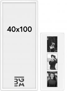 Amanda Box ramme Hvid 40x100 cm