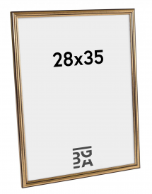 Horndal Guld 7B ramme 28x35 cm
