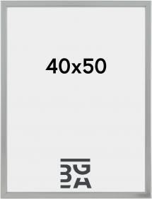 Slim Antirefleks Sølv 40x50 cm