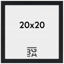 Stilren Billedramme Sort 20x20 cm
