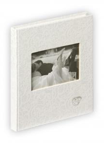 Music Gæstebog - 23x25 cm (144 Hvide sider / 72 blade)