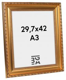 Birka Premium Billedramme Guld 29,7x42 cm (A3)