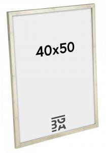 Galant Billedramme Sølv 40x50 cm