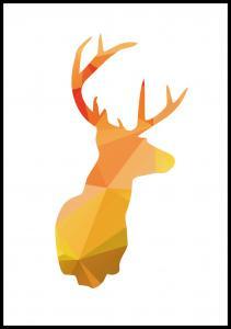 Deer - efterårsfarver