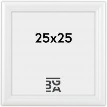 Siljan ramme Hvid 8B 25x25 cm