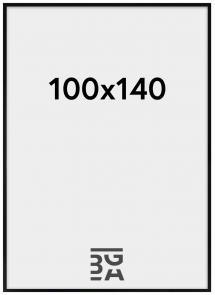 Amanda Box ramme Plexiglas Sort 100x140 cm
