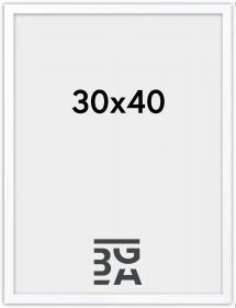 Soul ramme Hvid 30x40 cm
