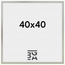 Edsbyn Fotoramme Sølv 2B 40x40 cm