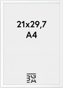 Galeria Billedramme Hvid 21x29,7 cm (A4)