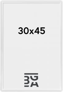 New Lifestyle ramme Hvid 30x45 cm