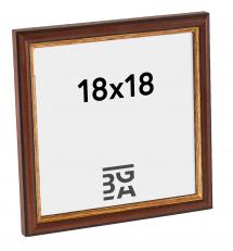 Horndal Brun 7A ramme 18x18 cm