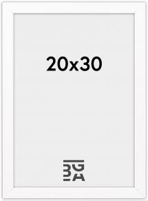 Stilren Billedramme Hvid 20x30 cm