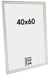 Shabby Chic billedramme Hvid 35A 40x60 cm