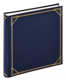 Kvadrat Blå - 30x30 cm (100 Hvide sider / 50 blade)