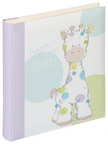 Kima Babyalbum - 28x30,5 cm (50 Hvide sider / 25 blade)