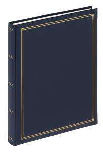 Monza Album selvhæftende Blå - 26x30 cm (30 sider)