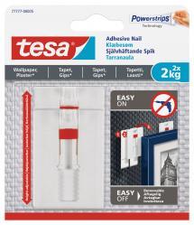 Tesa - Justerbare selvhæftende søm til alle vægtyper (max. 2x2kg)
