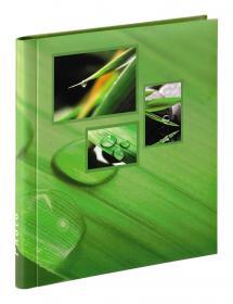 Singo Album Selvhæftende Grøn (20 Hvide sider / 10 blade)