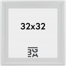 Mora Billedramme Premium Hvid 32x32 cm