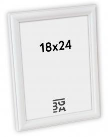Line ramme Hvid 18x24 cm