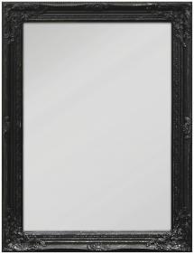 Spejl Antique Sort 50x70 cm