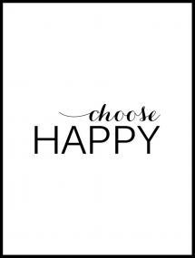 Choose happy - Sort