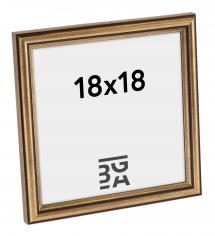 Horndal Guld 7B ramme 18x18 cm