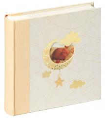 Baby Memo Bambini Babyalbum Creme - 200 Billeder i 10x15 cm