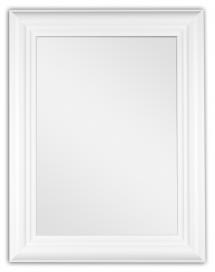Spejl Siljan Hvid 8B - Egne mål