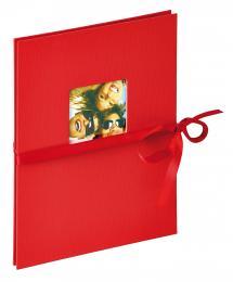 Fun Leporello rød - 12 Billeder i 15x20 cm