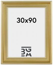Mora Billedramme Premium Sølv 30x90 cm