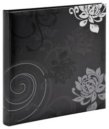 Grindy Fotoalbum Sort - 30x30 cm (60 Sorte sider / 30 blade)