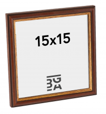 Horndal Brun 7A ramme 15x15 cm