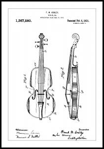 Patenttegning - Violin