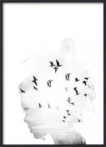 Bird Head B&W