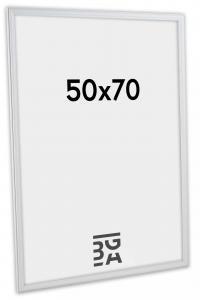 Line ramme Hvid 50x70 cm