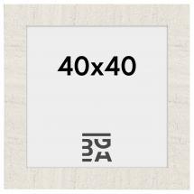 Home Hvid 40x40 cm