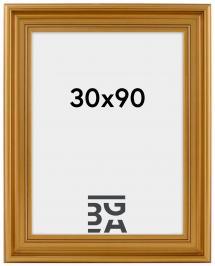 Mora Billedramme Premium Guld 30x90 cm