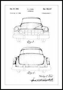 Patenttegning - Cadillac II