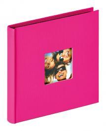 Fun Album Rosa - 18x18 cm (30 Sorte sider / 15 blade)