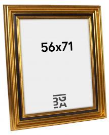Gysinge Premium Billedramme Guld 56x71 cm