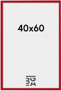 New Lifestyle ramme rød 40x60 cm