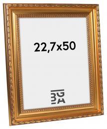 Birka Premium Billedramme Guld 22,7x50 cm
