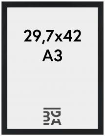 Stilren Billedramme Sort 29,7x42 cm (A3)