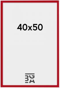 New Lifestyle ramme rød 40x50 cm
