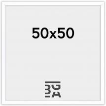 Amanda Box ramme Hvid 50x50 cm