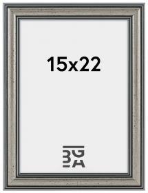 Frigg ramme Sølv 15x22 cm
