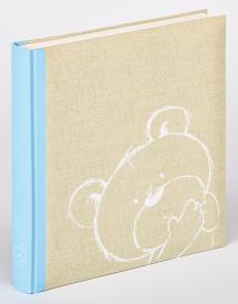 Dreamtime Blå - 28x30,5 cm (50 Hvide sider)