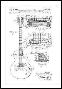 Patenttegning - Elguitar I