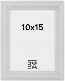 Nostalgia ramme Hvid 10x15 cm